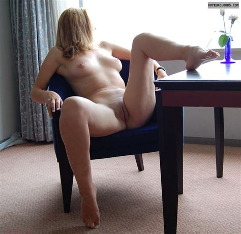 Girls Spread Legs While Sitting On Chairs