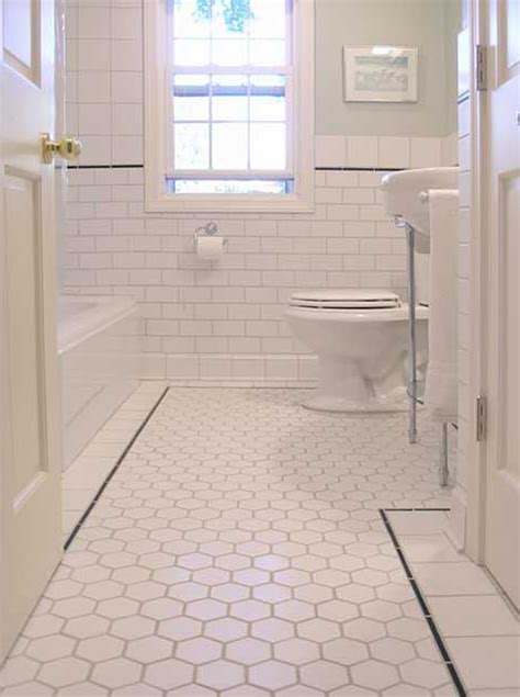 Bathroom Tile Flooring Ideas For Small Bathrooms  Tile