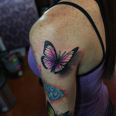 butterfly shoulder tattoo  tattoo ideas gallery