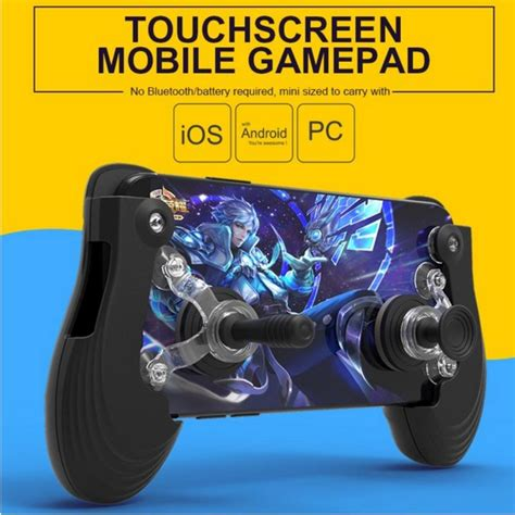 touch screen mobile controller mini gamepad joystick