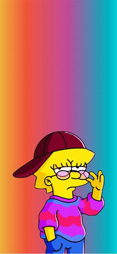 Aesthetic Lisa Cartoon Simpson Simpsons Characters