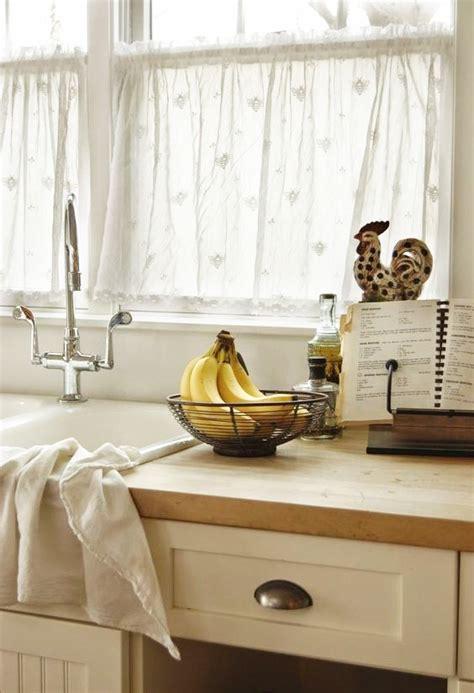 voilage de cuisine rideaux pour cuisine moderne id 233 es pour choisir le tissu