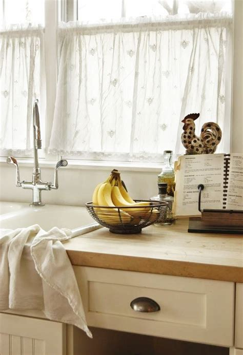 voilage pour cuisine rideau moderne fenetre cuisine