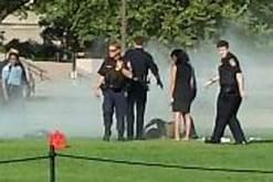 Man sets himself on fire near White House…