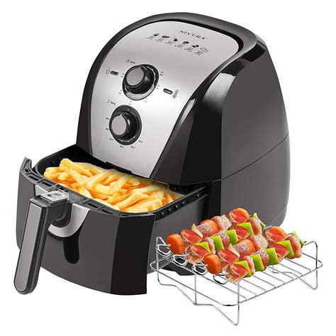 fryer air amazon electric extra capacity fryers recipes secura accessories qt skewers 3qt additional rated accessory ratings toaster oven cook