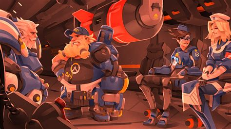 new overwatch skins appear to have leaked take a look here gamespot
