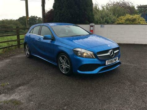 This mercedes a200 is stunning and comes with great extras such as amg night pack, heated seats, parking sensors and more! Mercedes-Benz A200 2.1d ( 136ps ) d ( s/s ) 2016MY AMG Line   in Carmarthen, Carmarthenshire ...
