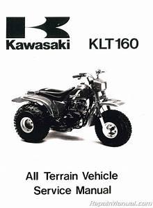 1985 Kawasaki Klt160 Service Manual