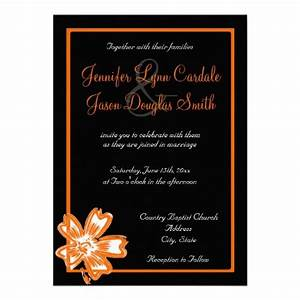 100 best images about orange and black wedding on pinterest With black white and orange wedding invitations