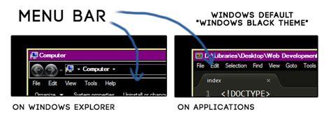 windows top bar missing windows 7 change the color of menu bar while using aero