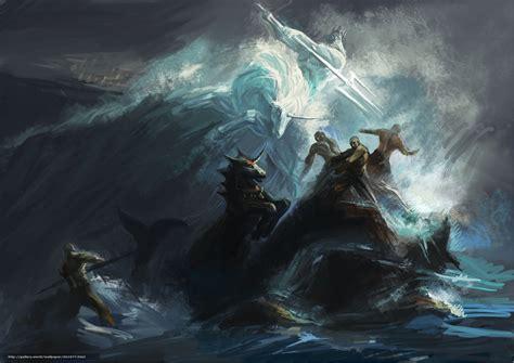 God Of War Desktop Wallpaper Poseidon Mythology In Quotes Quotesgram