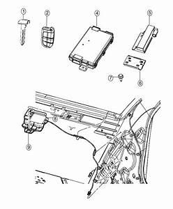 Chrysler 300 Transmitter  Integrated Key Fob