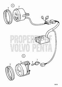 Volvo Penta Exploded View    Schematic Control Unit For