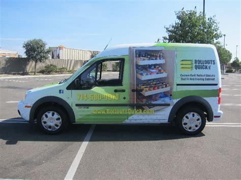 custom full vehicle wrap ford transit connect garden
