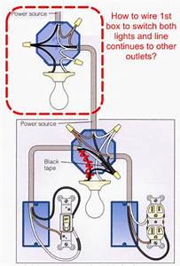 How To Wire Light According To Diagram