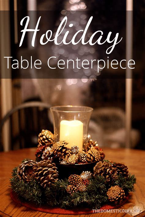 Holiday Table Centerpiece with Better Homes and Gardens
