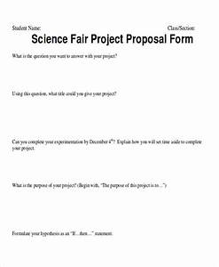 Science Project Proposal Example Example Research Proposal