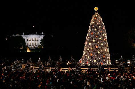 washington dc christmas lights national christmas tree 2017 lighting tickets more