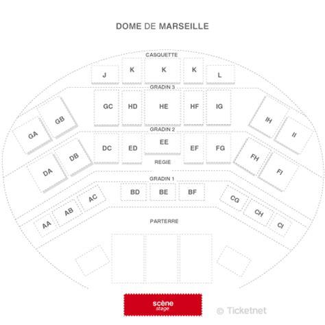 plan salle concert dome marseille voir le plan de la salle du dome marseille