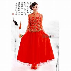 robe chinoise robe de soiree rouge asian market With robe chinoise rouge