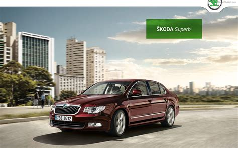 Skoda Superb 2011 Widescreen Exotic Car Picture #01 Of 22
