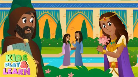 esther animated simple bible stories 740 | maxresdefault