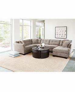 macy39s elliot fabric sectional for the home pinterest With elliot sectional sofa macy s