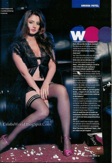 Hot Indian Celebrity Amisha Patel Hot Biographyameesha Patel Born Amisha Patel June