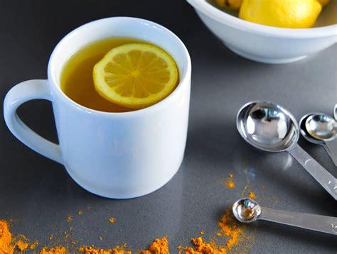 lukewarm water turmeric lukewarm lemon water best herbal health