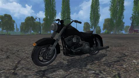 harley davidson   ls  farming simulator   mod