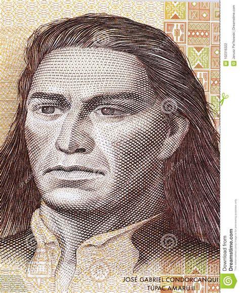 Tupac Amaru Ii Portrait Stock Photo Image Of Finance
