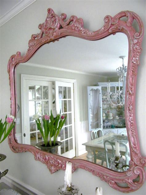 how to paint a mirror frame shabby chic 1000 images about vintage furniture