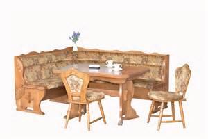 esszimmer vintage bruck oak breakfast nook set