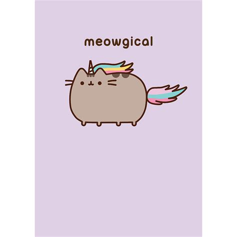 kitchen table for 6 pusheen meowgical card meowco