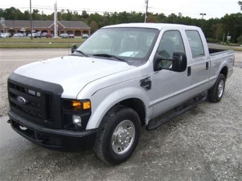 Buy used 2008 Ford F250 XL SD Crew Cab 8ft Bed in