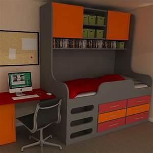 Childrens High Sleeper Storage Bed Perfect Storage Solution