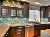 backsplash for kitchen Glass Backsplash Ideas: Pictures & Tips From HGTV | HGTV