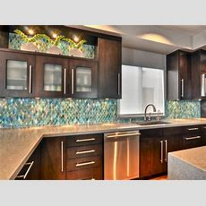 Glass Backsplash Ideas Pictures & Tips From Hgtv  Hgtv