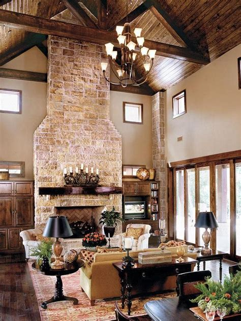 sprawling texas ranch style home fireplaces style   fireplace