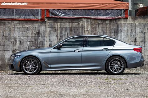 boutique bmw motorsport bmw m550i xdrive with hre wheels by wheels boutique bmw