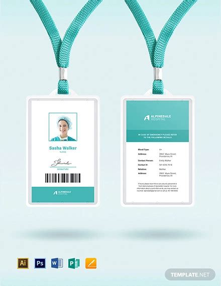 modern id card designs ideas  ms word psd ai