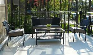 Outdoor furniture rental for home staging by stagers for Furniture rental home staging toronto