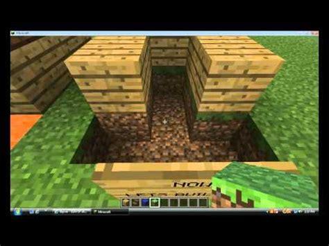 minecraft   build  dog house  food bowl