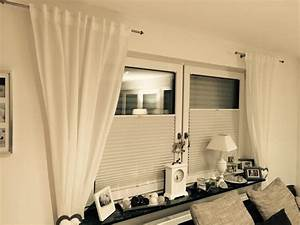 Gardinen Direkt Am Fenster Befestigen : gardinen deko fenster gardinenstange gardinen ~ Michelbontemps.com Haus und Dekorationen