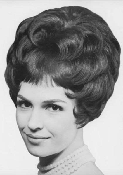 1960s hair style 1152 best permed teased images on 1588