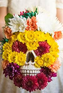 Flower Friday: Day of the Dead Flower Skull Pretty Prudent