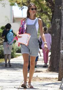 Alessandra Ambrosio Takes Her Kids To The Mall - Zimbio