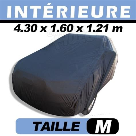 housse voiture velours garage protection auto int 233 rieure coverin taille m comptoirauto