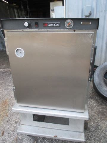 crescor hssuac mobile  height heated hot cabinet proofer warmer