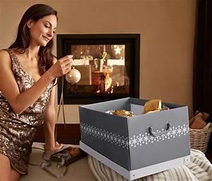 Nordische Weihnachtsdeko Online Shop : weihnachtsdeko ordnungsbox online bestellen bei tchibo 298355 ~ Frokenaadalensverden.com Haus und Dekorationen